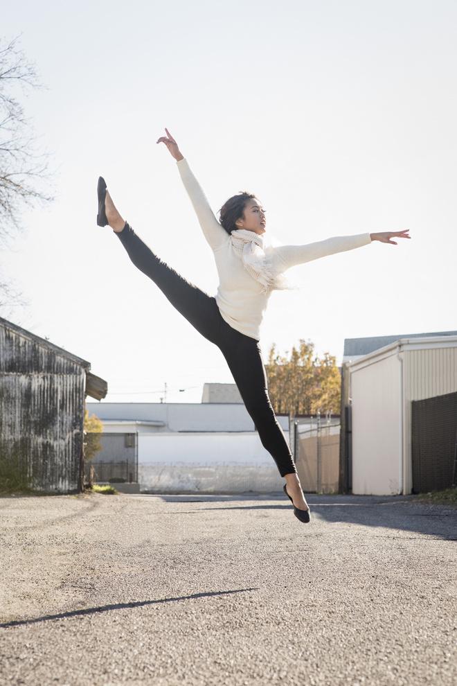 балетки с каблуком