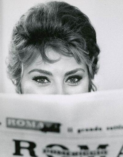 Глаза - гордость Софи Лорен (Sophia Loren)