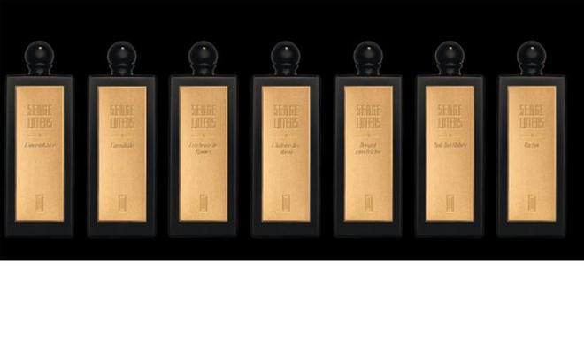 Serge Lutens, пять новых ароматов в коллекции «Золотое сечение»