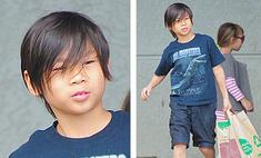 Восьмилетний сын Анджелины Джоли ведет холостяцкий образ жизни
