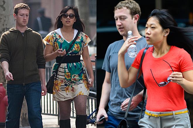 Марк Цукерберг с женой фото