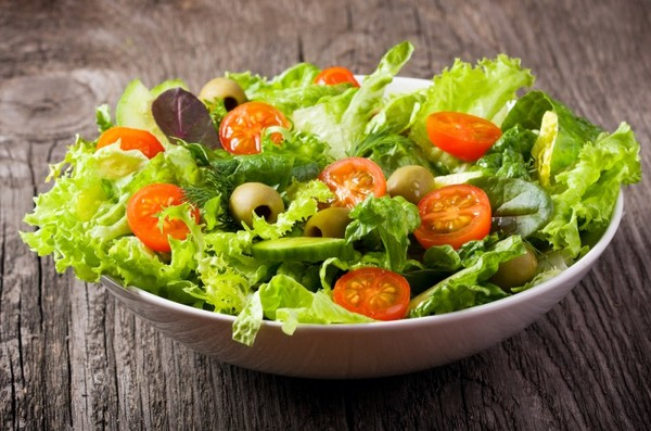 диетические овощные салаты рецепты