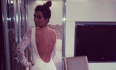 Ким Кардашьян ищет платье для свадьбы с Канье Уэстом