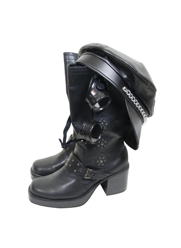 Байкерские ботинки одежда