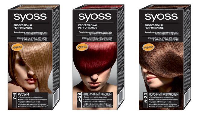 Syoss color