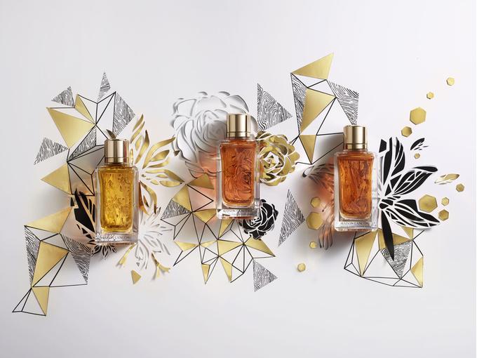 Древесные ароматы коллекции Maison Lancôme Grand Cru