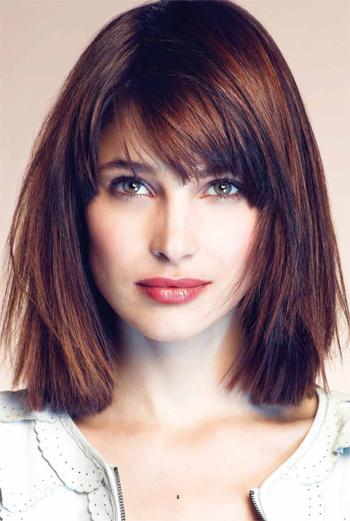Красивые причёски для средних волос