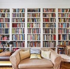 7 крутых идей, как расположить и выбрать книжный шкаф