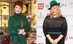 Ева Польна и Наталья Бочкарева удивили необычными нарядами