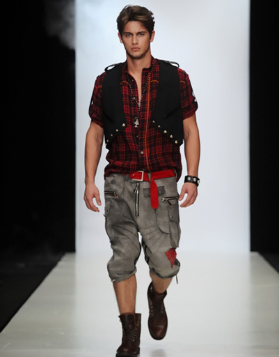 Mercedes-Benz Fashion Week: Black Star by Timati & Andrei Ponomarev, весна-2012.