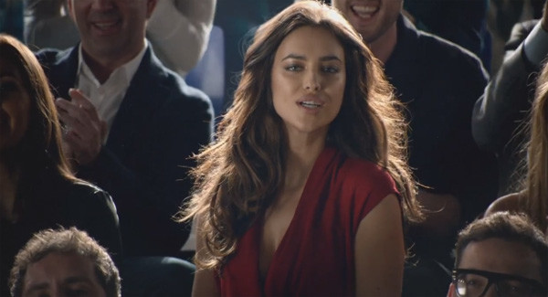 Ирина Шейк в рекламном видео Nike