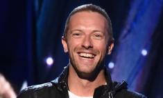 Крис Мартин: без Пэлтроу, но с улыбкой