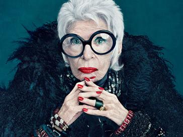 90-летняя Айрис Апфель станет лицом рекламной кампании своей коллекции косметики MAC