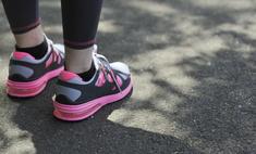 Как разносить кроссовки: : самые действенные способы
