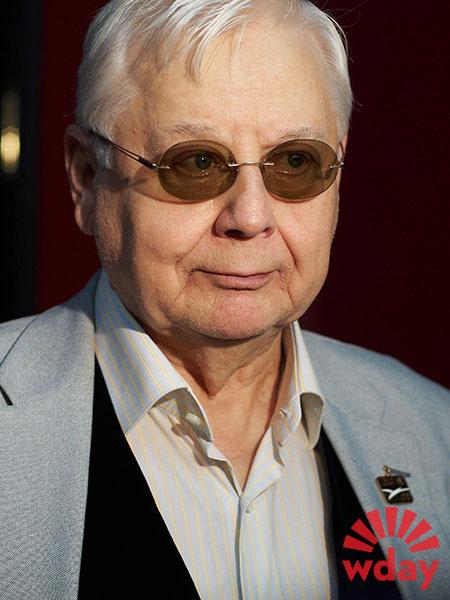 Народный артист СССР Олег Табаков отмечает 80-летний юбилей