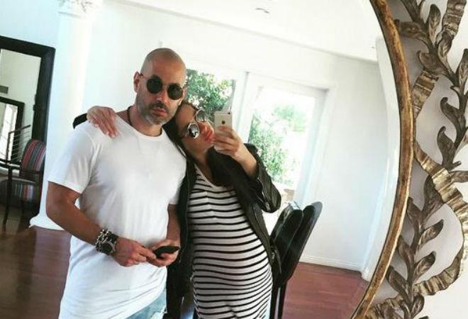 Кэти Топурия с мужем фото