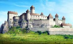 выглядели известных европейских замков анимированная реконструкция