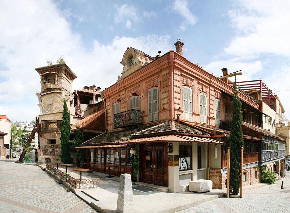 4. Тбилиси, Часы Габриадзе