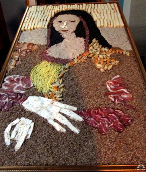 Картина Джоконда из еды в Новокузнецке попала Книгу рекордов Гиннесса