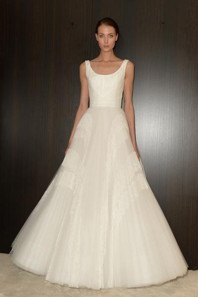 60 пышных свадебных платьев 2015 | галерея [1] фото [36]