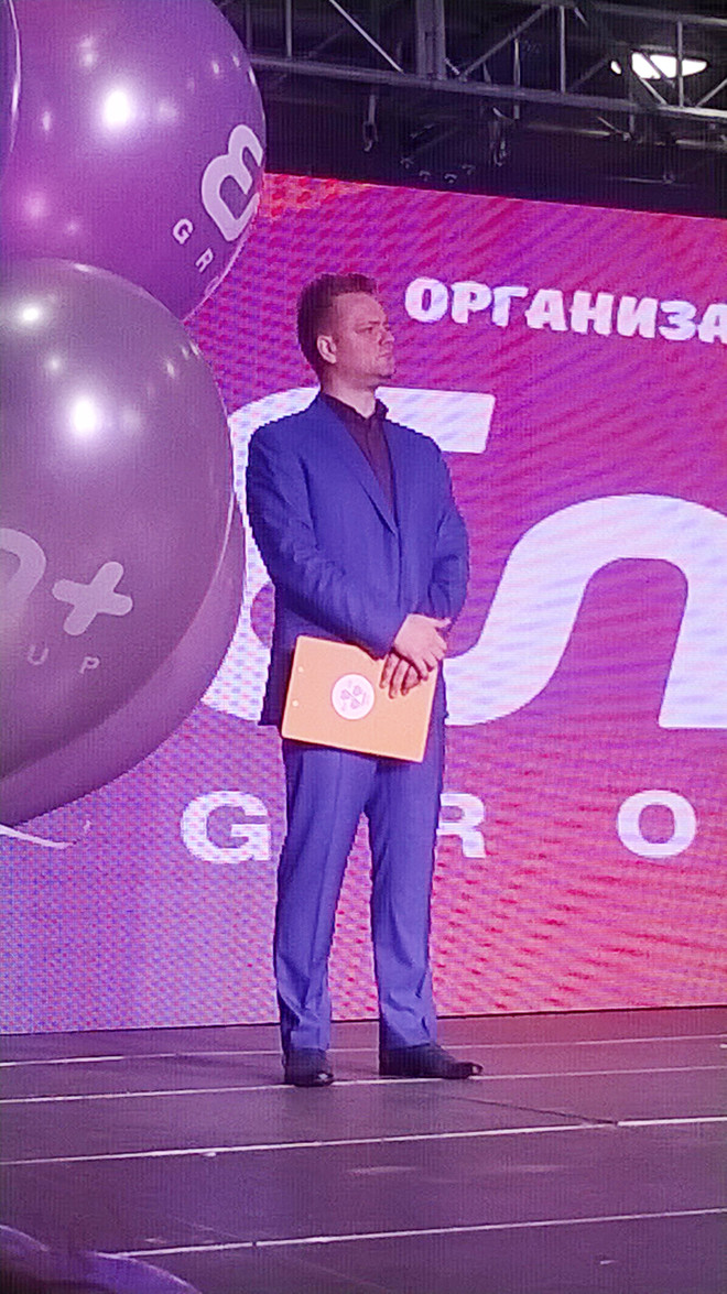 Александр Пушной поджег себе руку