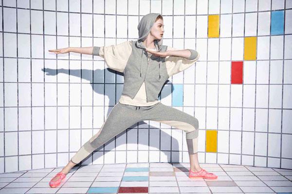 adidas by Stella McCartney для занятий йогой