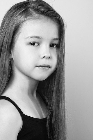 Арина Амосова, «Топ модель по-детски-2016», фото