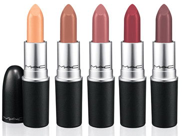 ПАомада для губ Warm Companion Beige with gold pearl, Cozy Up Deep caramel, Haute Altitude Mid-tone blue pink, Après Chic Pinky brick red, Hot Chocolate Dirty plum.