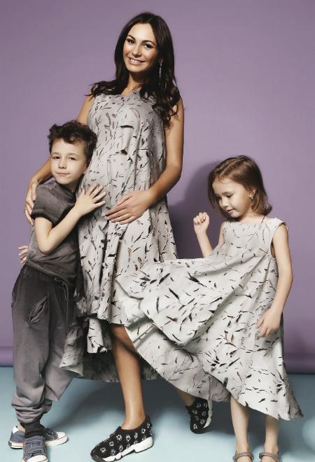Инна Жиркова с детьми фото