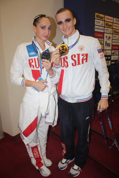 Александр Мальцев первый российский чемпион мира в синхронном плавании