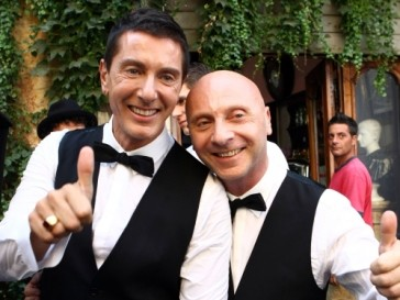 Доменико Дольче (Domenico Dolce) и Стефано Габбана (Stefano Gabbana) тоже оказались бибероманами