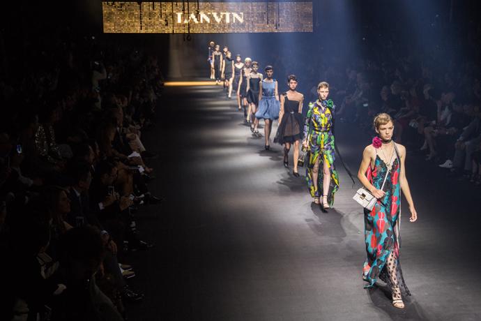 Показ Lanvin весна-лето 2016