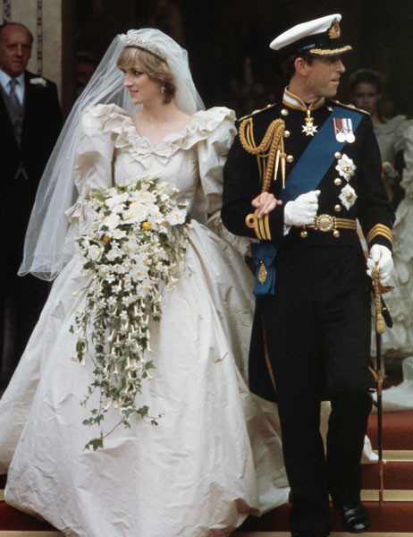 Свадьба леди Дианы и принца Чарльза, 29 июля 1981 года