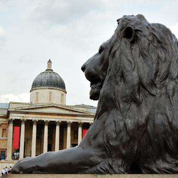 Лондонская национальная галерея содержит более 2000 образцов западноевропейской живописи XIII – начала XX вв.