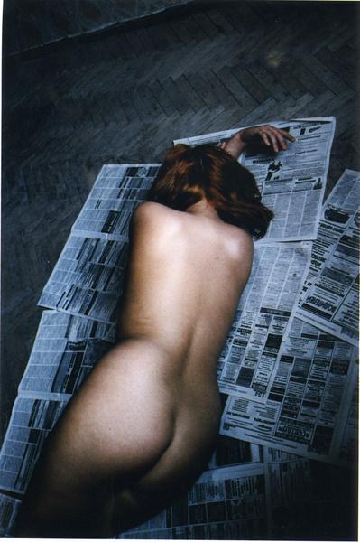 Франсуаза Югье. Из серии «Коммуналка». 2008 год.