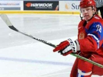 Вратарь российской сборной Дмитрий Шикин признан самым полезным игроком матча