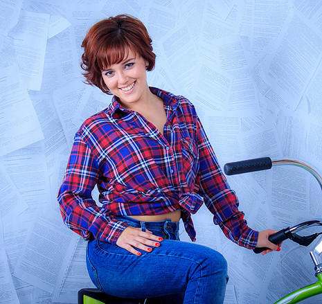 Светлана Голицина, участница «Мисс велогород-2016», фото