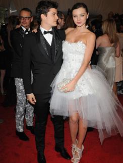 Миранда Керр (Miranda Kerr) и Орландо Блум (Orlando Bloom) - одна из самых стильных пар