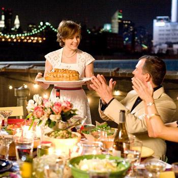 Джули Пауэлл решила за год приготовить все 524 блюда по рецептам книги Джулии Чайлд.