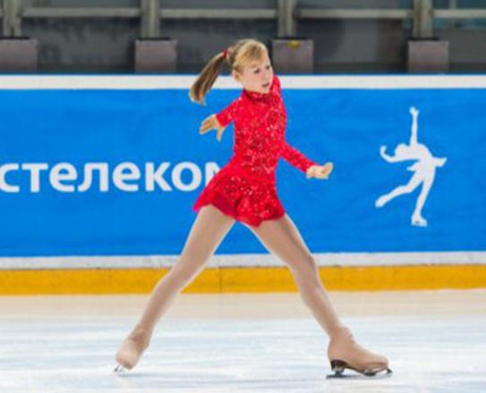 Полина Якименко, фигурное катание, фото