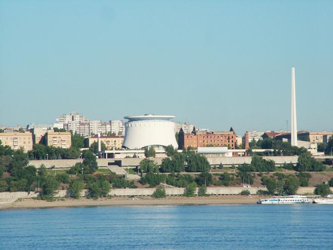 Волгоград. Панорама