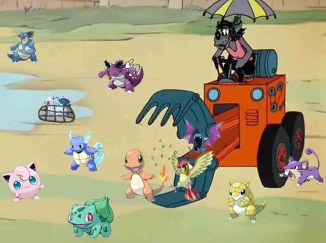 Топ-25 смешных мемов про Pokemon Go