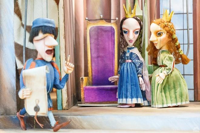 «Актеры» спектакля «Принцесса и Эхо»