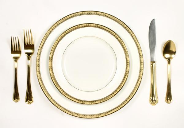 Золотая посуда