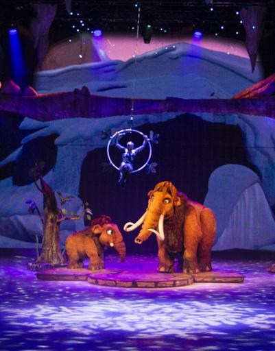 Ледниковый период Live!, фото с премьеры