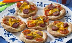 Мини-пицца домашняя