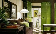 Цвет природы: интерьер в зеленых оттенках