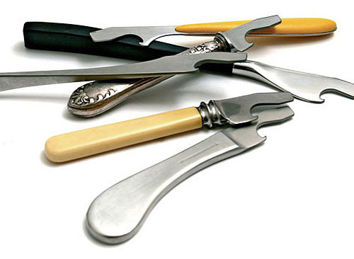 старые затупившиеся ножи