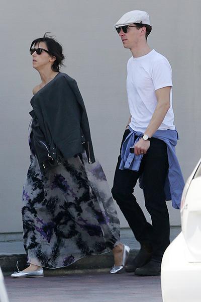 Бенедикт Камбербэтч с женой фото