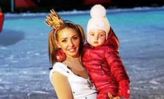 Навка рассказала о воспитании младшей дочери